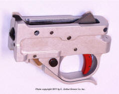 Timney Silver 10/22 Triger Guard Assembly