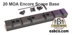 Encore 20 MOA Scope Mount