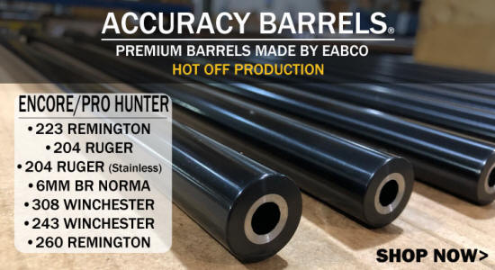 TC Encore Accuracy Barrels by EABCO
