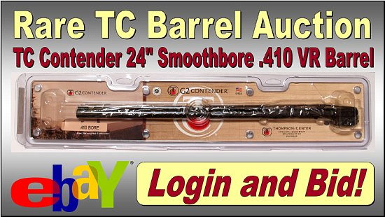 TC Contender .410 Barrel Auction