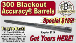300 Blackout Accuracy Barrels