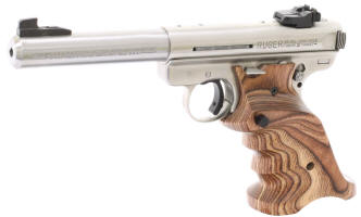 Volquartsen Laminated Grips for the Ruger Mk III