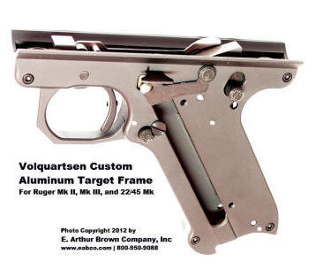 Volquartsen light weight frame for the Ruger Mk II, III, and 22/45