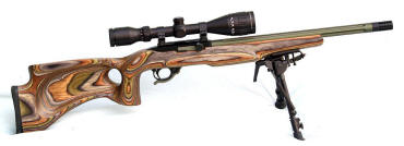 Ruger 10/22 Thumbole Stocks in Camo Laminate